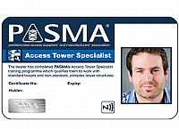 PASMA Joins CSCS Card Scheme in 2021